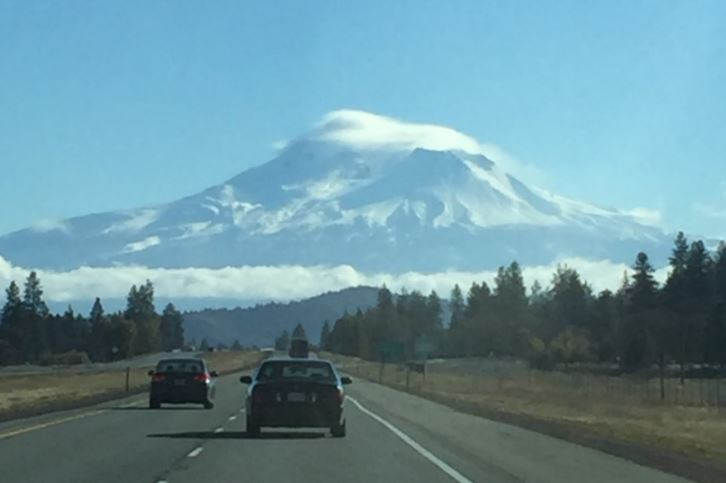 Shasta I5 Freeway