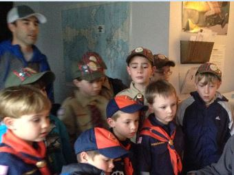 Mt. Shasta Cub Scouts at Z Studios